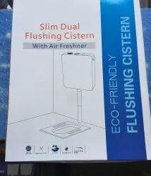 Slim Dual Flushing Cistern