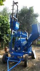 Lift Concrete Mixer Hydraulic Hopper