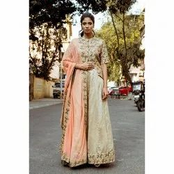 Stitched Chiffon Party Wear Designer Lehenga Choli