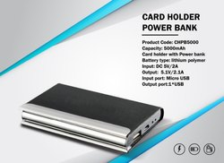 Card Holder With Power Bank 5000mAH