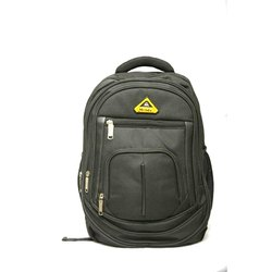 Black Polyester Girls College Bag