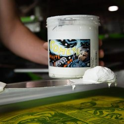 White Textile Printing Paste