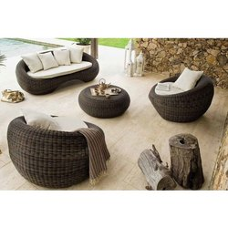 Poolside Rattan Sofa Set