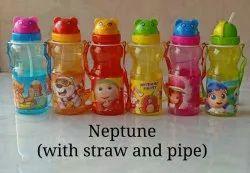 孩子水瓶带稻草礼品项目