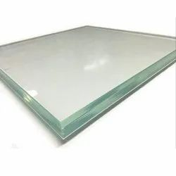 Transparent Laminated Toughened Glass, Thickness: 12 Mm