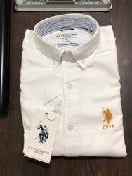 Surplus Cotton Men White Shirt