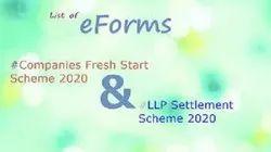 List Of Forms-CFSS, 2020 & LLP Modified Settlement Scheme 2020