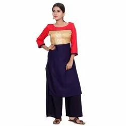 Stylish Rayon Party Wear Kurti