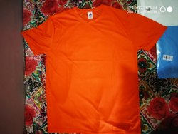 Plain Round Printed Tshirt For Men