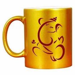 Gold Mug Printing