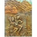 Brown Metal Wall Art Of God And Goddesses
