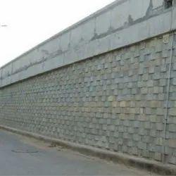 Reinforced Soil Retaining Wall Work - Geosol Associates, Hyderabad