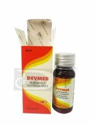 Devmeb Mebendazole Oral Suspension