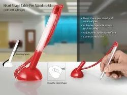 L81 - Heart Shape Table Pen Stand