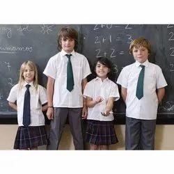 Unisex Cotton Kids School Uniform, Packaging Type: Packet