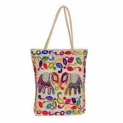 Printed Handicraft Handbag