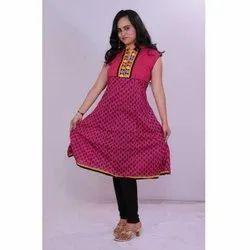 Ladies Cotton Anarkali Kurti