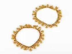Alloy Traditional Bridal Payal / Royal Anklets