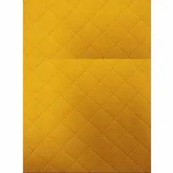 Yellow Textured Non Woven Fabric