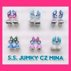 925 Sterling Silver Jumky South Screw Mina