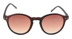Henry Richel Latest Stylish Round Brown Lens 007 Sunglasses for Men