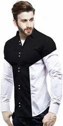 Casual Cotton Mens Party Wear Shirt, Size: M. L. Xl