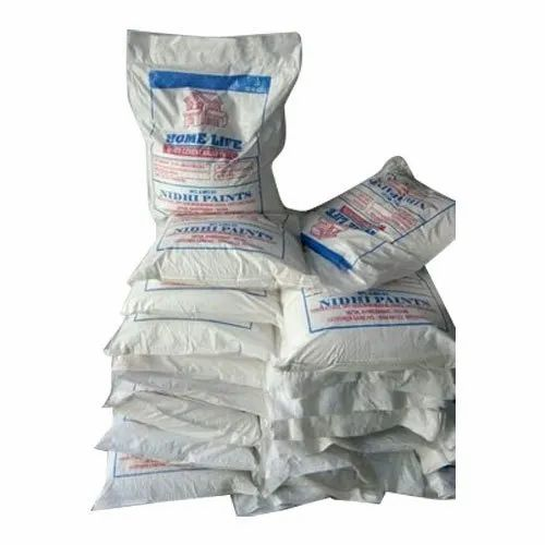 White 20kg Home Life Powder Putty, Packaging Type: Pp Bag, Packing Size: 20 kg And also Available in 40 Kg