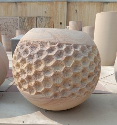 Rainbow Sandstone Vase