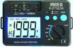 MECO G Digital Insulation Tester R DT903A