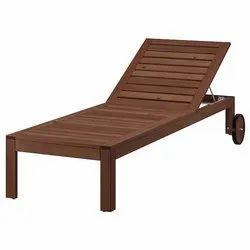Wooden Sun Lounger