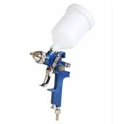 Voylet Stainless Steel, Plastic H 827 HVLP Spray Gun, Model Number: H-827, 8 - 9 (cfm)