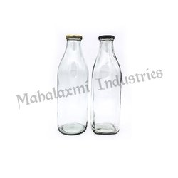 1000 ml Milk Glass Bottle