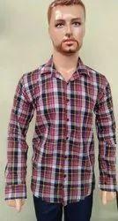 Mens Casual Check Shirts