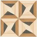 Matte Brown Designer Floor Tiles, Thickness: 10 Mm, Size: 600x600 Mm