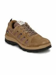 Daily wear Lace Up Hirolas Multisport Leather outdoor Shoes- Camel-HRO1966CML