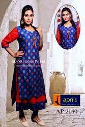 Western Wear Rayon 2 Part Gown