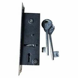 Stainless Steel Main Door Lock for Security, Finish Type: Chrome