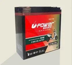 U-Power Tech Warranty: 24* Months E-Bike Battery - 26Ah, Zero Maintenance, Model Name/Number: Zing