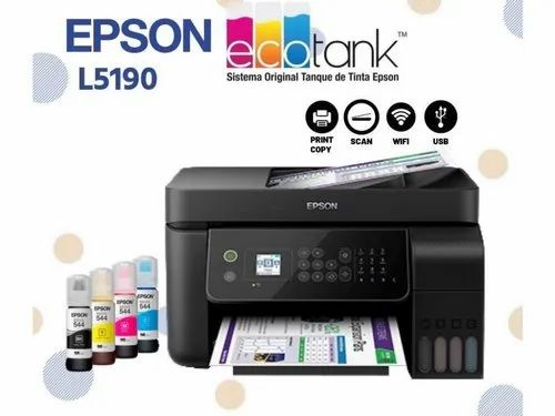 Epson Printer Epson L5190 Wi Fi All In One Ink Tank Printer Wholesale Trader From Ahmedabad