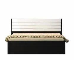 Engineering Wood QUeen Size Bed, queensizebed-sl-020, Size: 5'x6'6