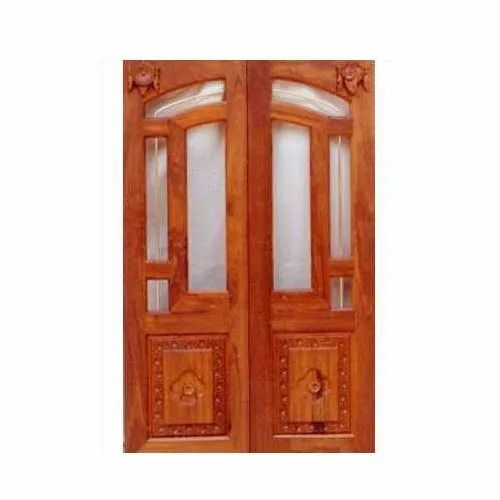 Mahalsa Finished Wooden Panel Interior Door, For Home,Hotel etc