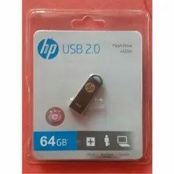 Stick Metal HP v220w USB Flash Drive, Memory Size: 64 Gb