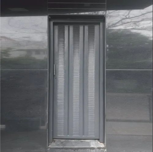Standard Brown Expanded Metal Doors, For Home, Single