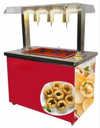 3 Nozzle Panipuri Water Filling Counter