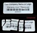 UDV (Ultra Destructible Vinyl) labels