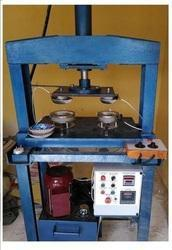 Fully Aromatic Hydraulic Pattal And Dish Making Machine