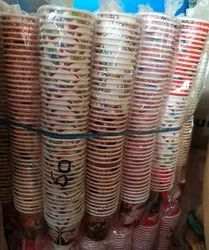 Colorful Printed Paper Cup 65ml (43 cup in packet), For Wholesale, Capacity: 10-100 Box