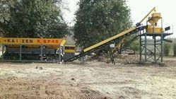 Stationary Concrete Mixing & Batching Plant - Pan Mixer