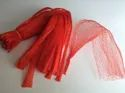 PVC Red Fruit Net Bag