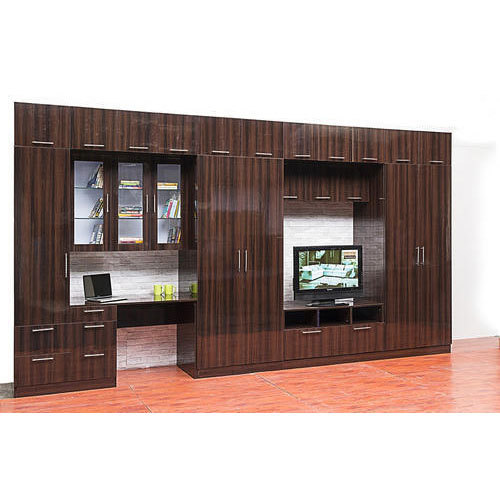 Modular Wardrobe With Lcd Tv Stand
